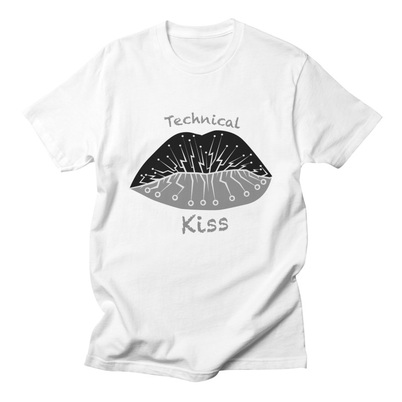 Technical Kiss Women's Unisex T-Shirt by POP COLOR BOT