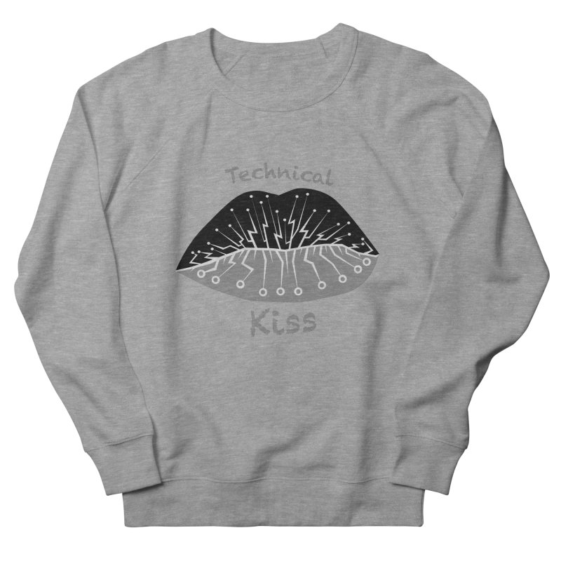 Technical Kiss Men's Sweatshirt by POP COLOR BOT
