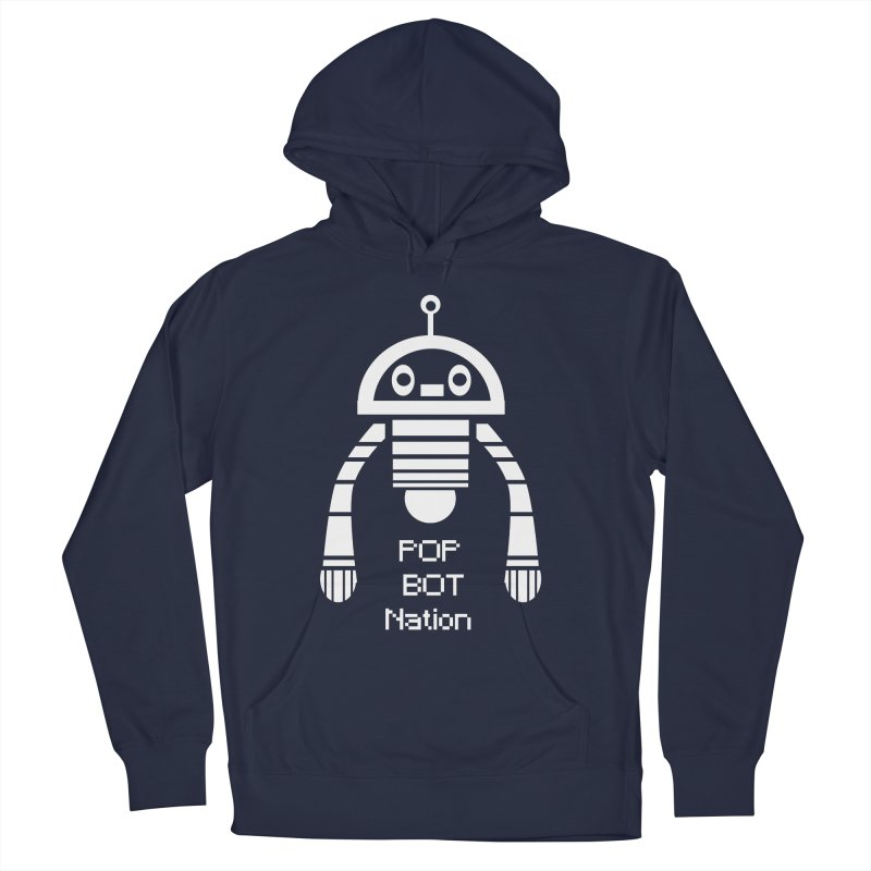 POP BOT NATION Women's Pullover Hoody by POP COLOR BOT