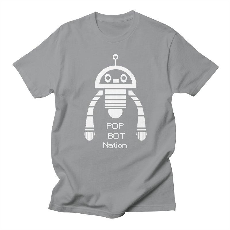 POP BOT NATION Women's Unisex T-Shirt by POP COLOR BOT