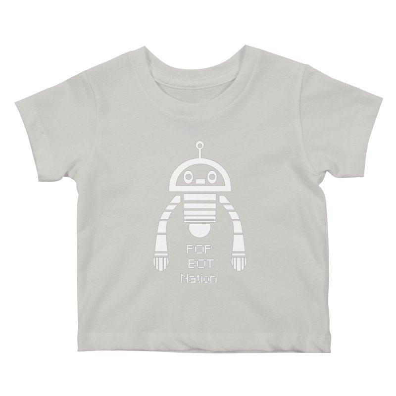 POP BOT NATION Kids Baby T-Shirt by POP COLOR BOT