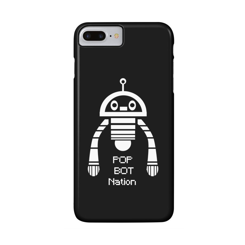 POP BOT NATION Accessories Phone Case by POP COLOR BOT