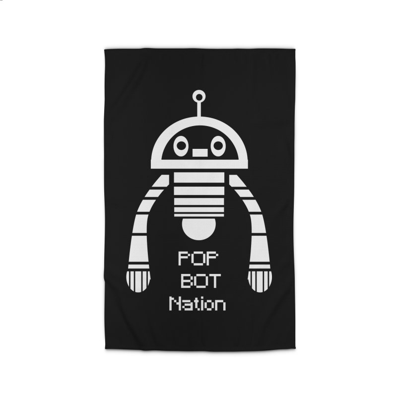POP BOT NATION Home Rug by POP COLOR BOT