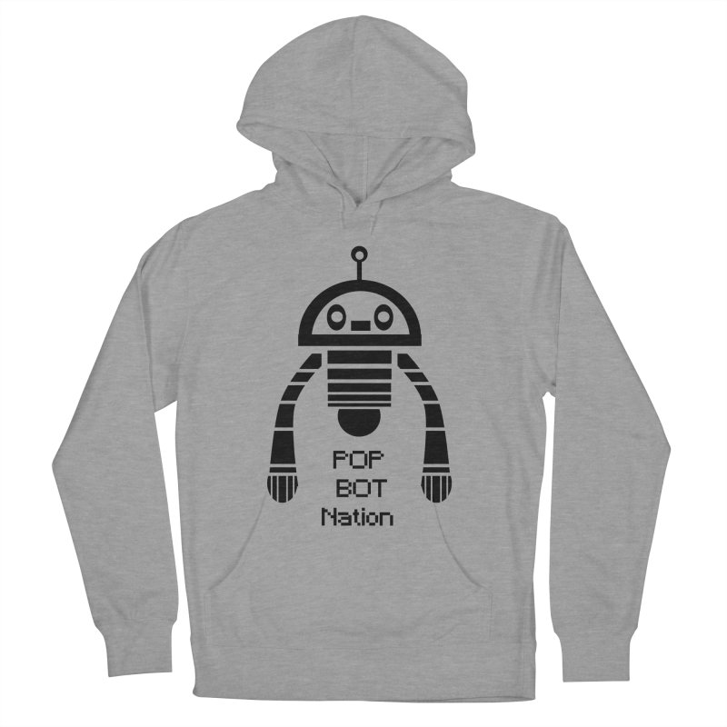 DARK BOT NATION Women's Pullover Hoody by POP COLOR BOT
