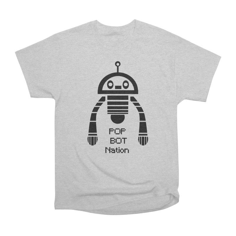 DARK BOT NATION Men's Classic T-Shirt by POP COLOR BOT