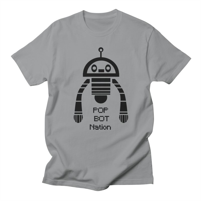 DARK BOT NATION Men's Regular T-Shirt by POP COLOR BOT