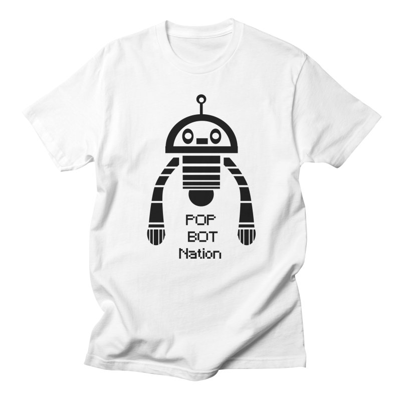 DARK BOT NATION Women's Unisex T-Shirt by POP COLOR BOT