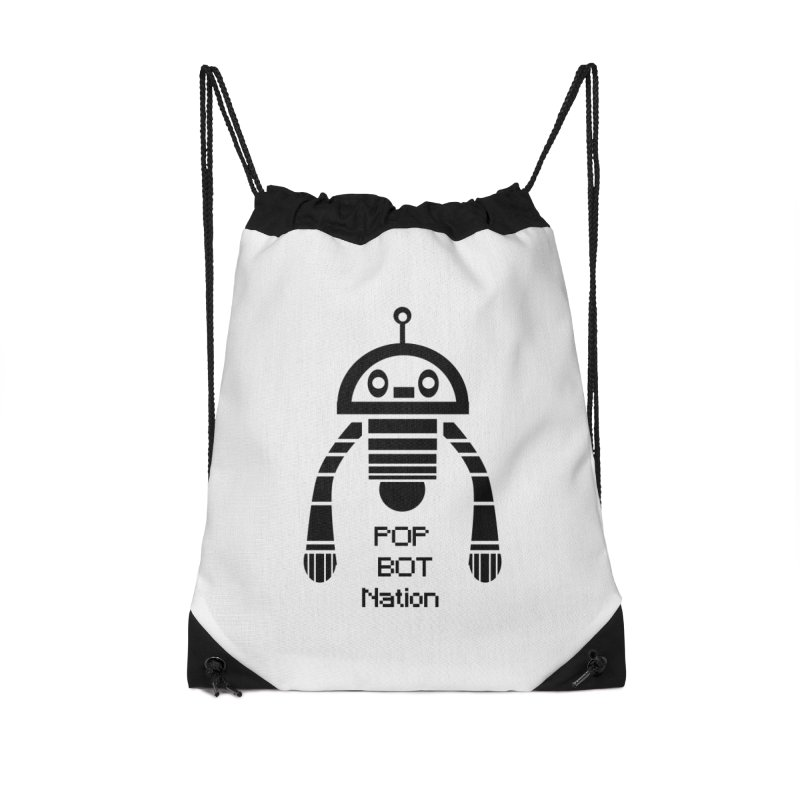 DARK BOT NATION Accessories Bag by POP COLOR BOT