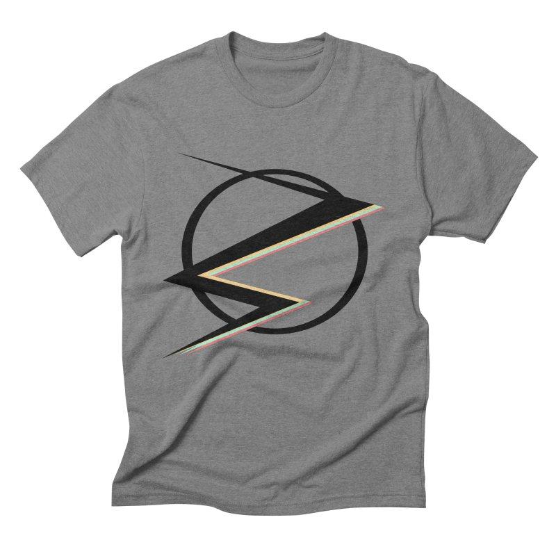 POP COLOR BOT Speedster Men's Triblend T-shirt by POP COLOR BOT