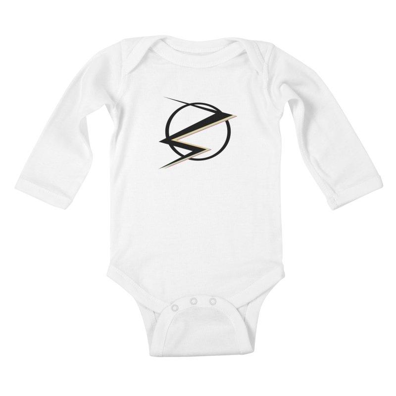 POP COLOR BOT Speedster Kids Baby Longsleeve Bodysuit by POP COLOR BOT