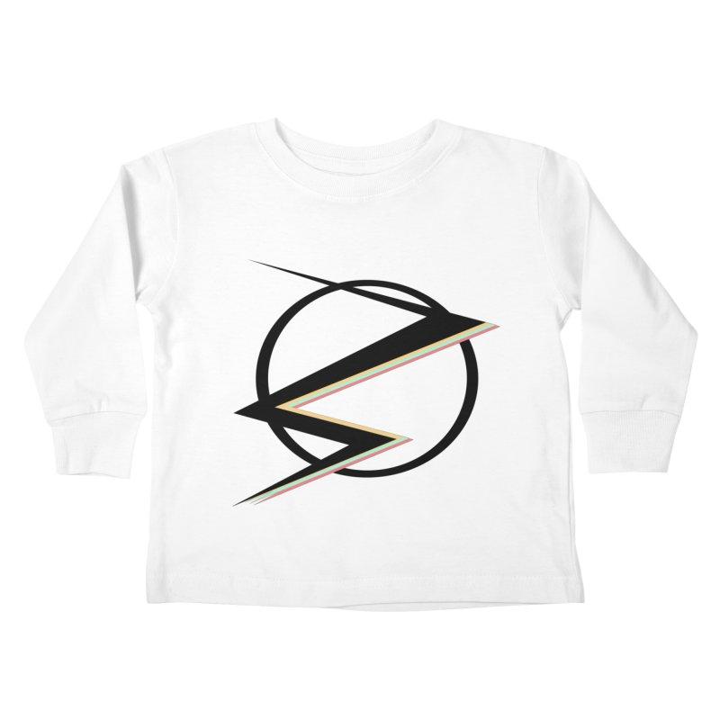 POP COLOR BOT Speedster Kids Toddler Longsleeve T-Shirt by POP COLOR BOT