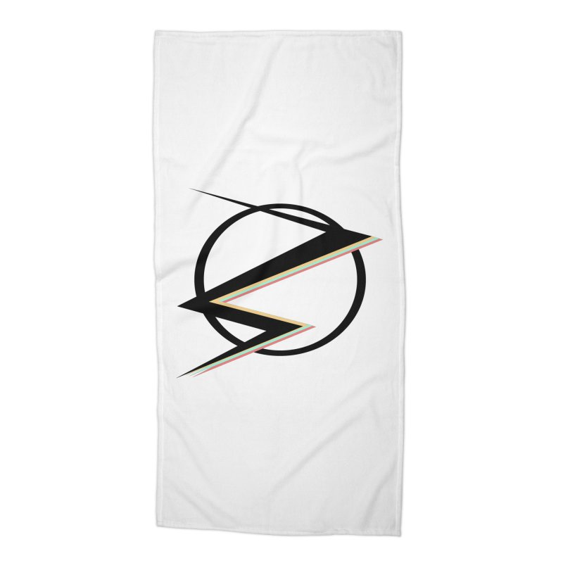 POP COLOR BOT Speedster Accessories Beach Towel by POP COLOR BOT