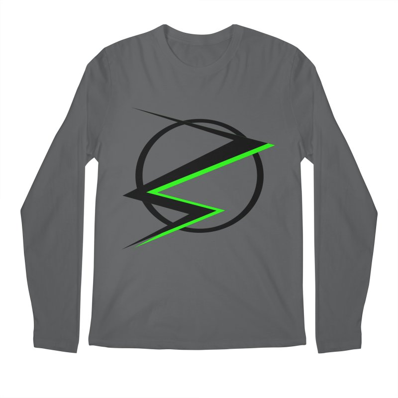 Radioactive speedster Men's Longsleeve T-Shirt by POP COLOR BOT