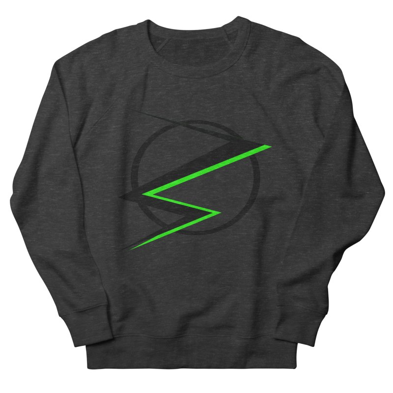 Radioactive speedster Men's Sweatshirt by POP COLOR BOT