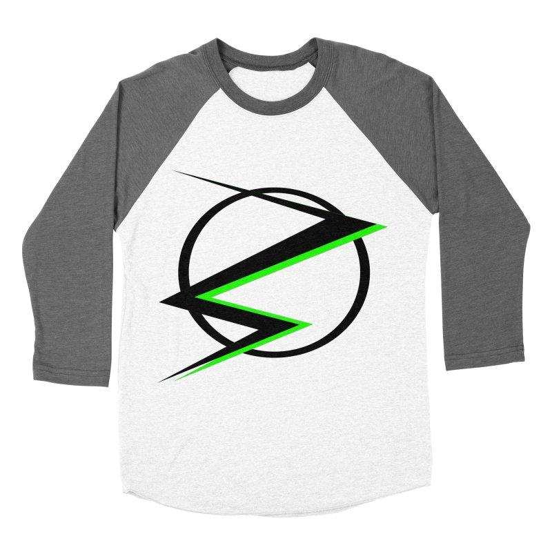 Radioactive speedster Women's Baseball Triblend T-Shirt by POP COLOR BOT