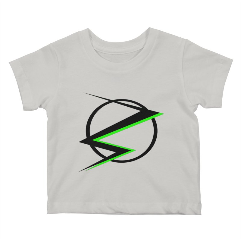 Radioactive speedster Kids Baby T-Shirt by POP COLOR BOT