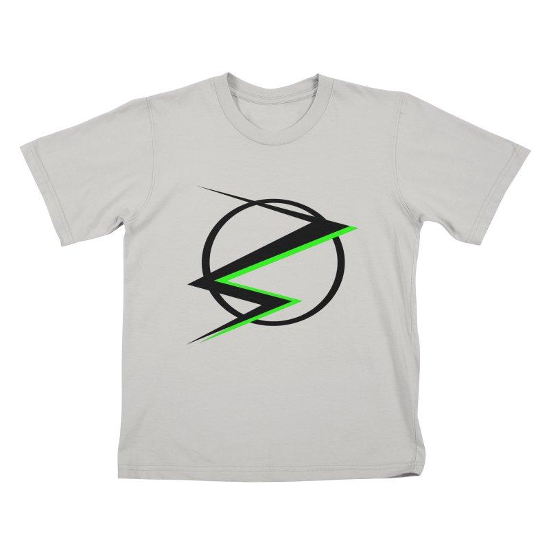 Radioactive speedster Kids T-shirt by POP COLOR BOT