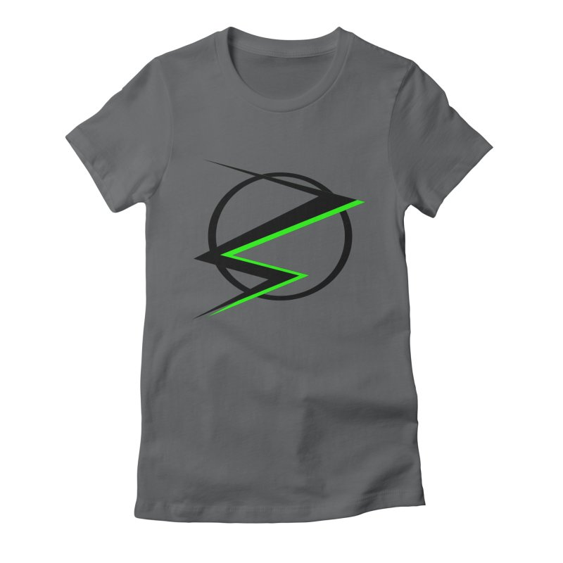 Radioactive speedster Women's Fitted T-Shirt by POP COLOR BOT