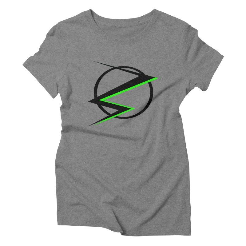 Radioactive speedster Women's Triblend T-shirt by POP COLOR BOT