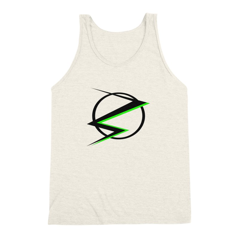 Radioactive speedster Men's Triblend Tank by POP COLOR BOT