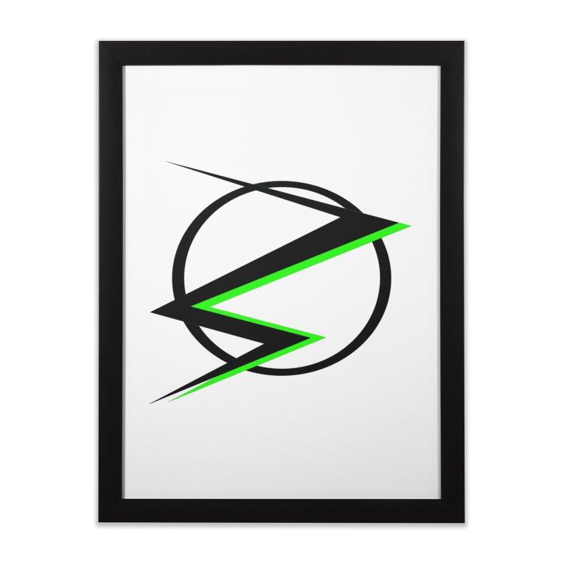 Radioactive speedster Home Framed Fine Art Print by POP COLOR BOT