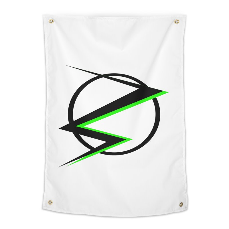 Radioactive speedster Home Tapestry by POP COLOR BOT