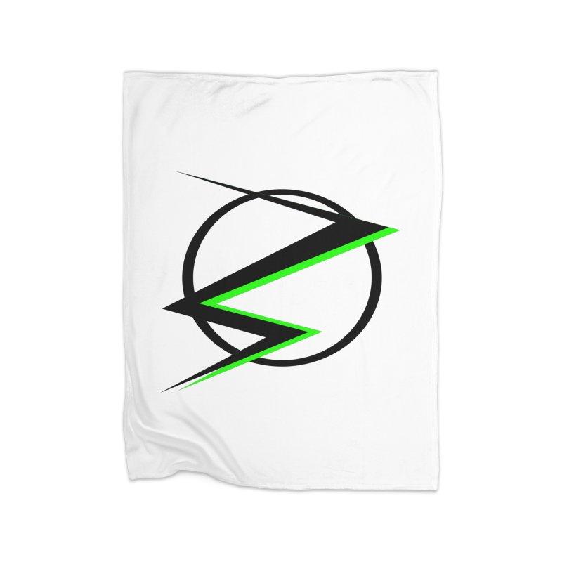 Radioactive speedster Home Blanket by POP COLOR BOT