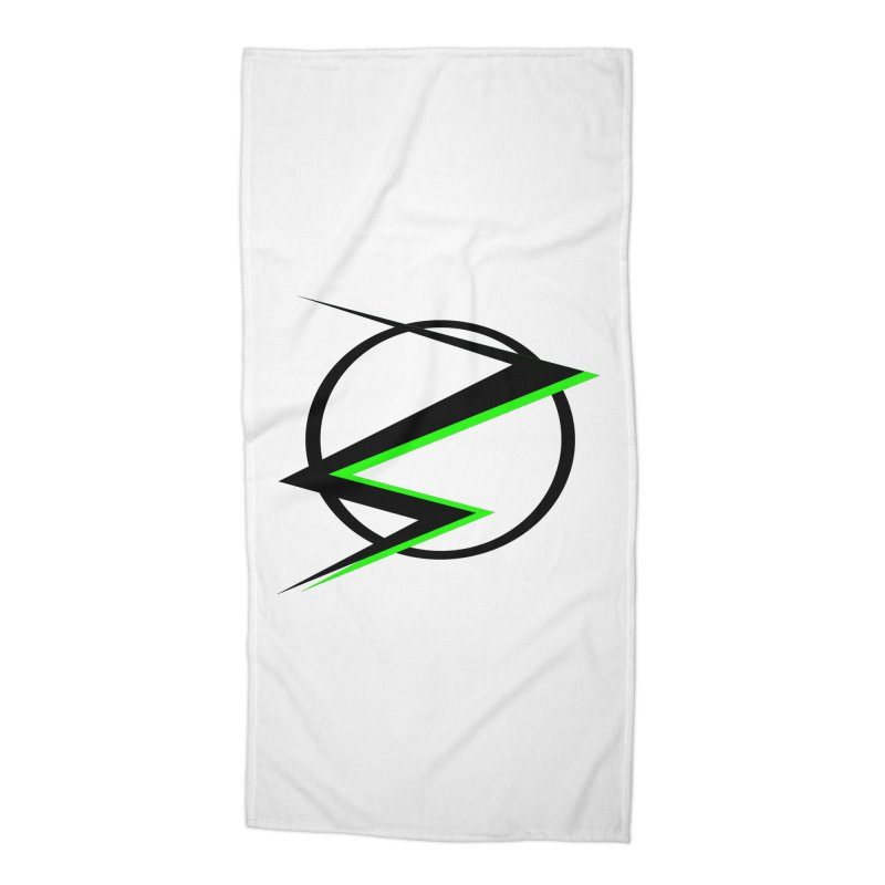 Radioactive speedster Accessories Beach Towel by POP COLOR BOT
