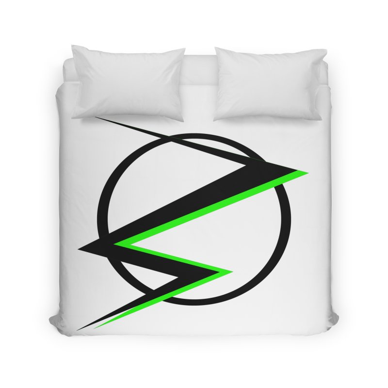 Radioactive speedster Home Duvet by POP COLOR BOT