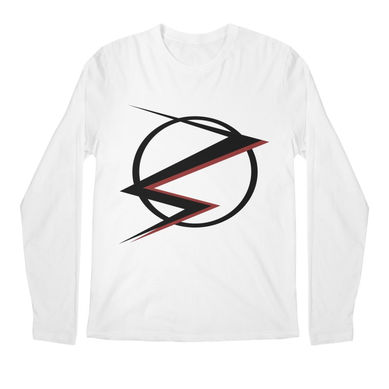 The Speedster Men's Longsleeve T-Shirt by POP COLOR BOT