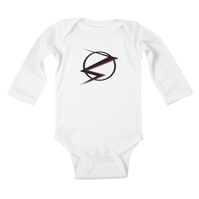 The Speedster Kids Baby Longsleeve Bodysuit by POP COLOR BOT