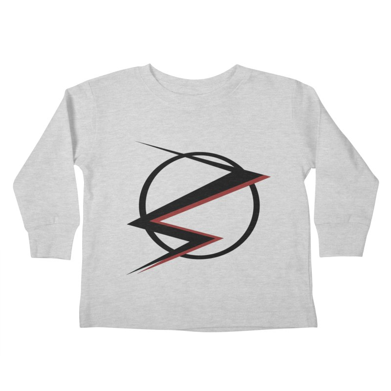 The Speedster Kids Toddler Longsleeve T-Shirt by POP COLOR BOT