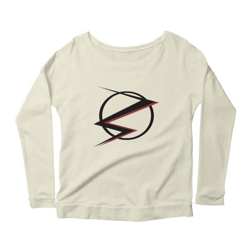 The Speedster Women's Scoop Neck Longsleeve T-Shirt by POP COLOR BOT