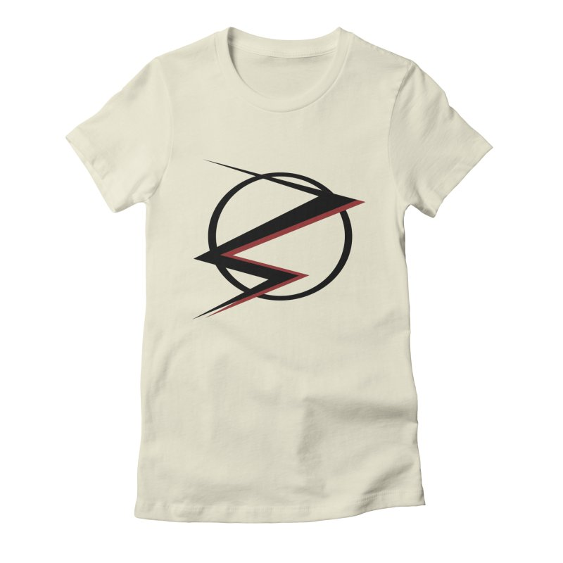 The Speedster Women's Fitted T-Shirt by POP COLOR BOT