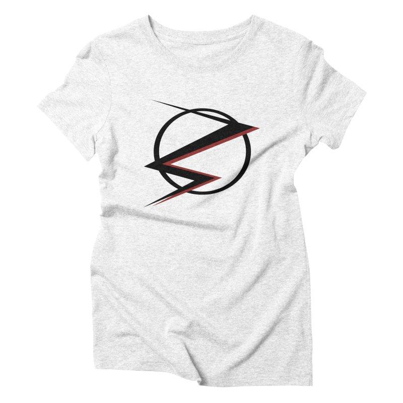 The Speedster Women's Triblend T-shirt by POP COLOR BOT