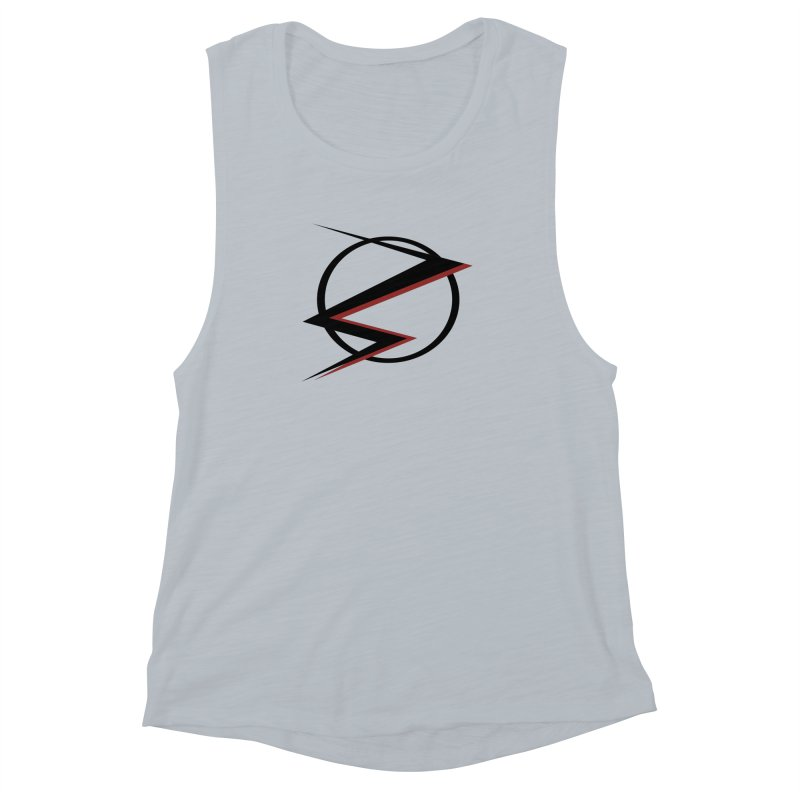 The Speedster Women's Muscle Tank by POP COLOR BOT