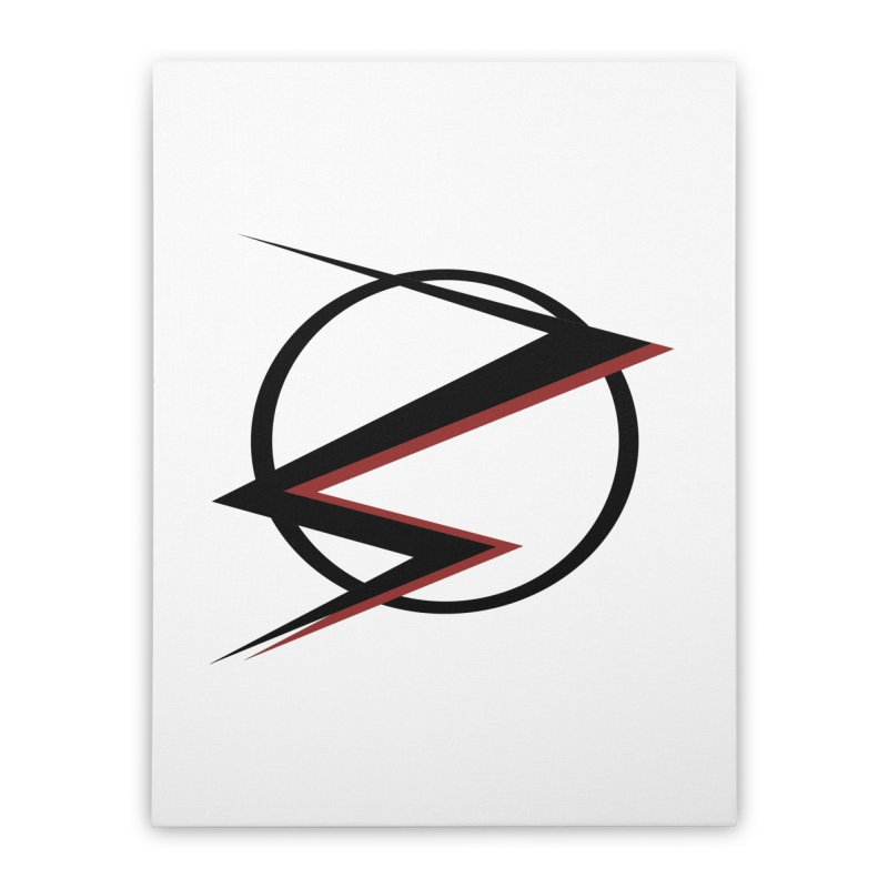 The Speedster Home Stretched Canvas by POP COLOR BOT