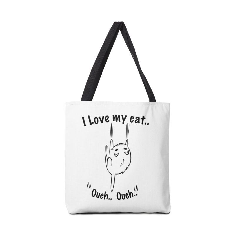 Kitty Love Ouch.. Accessories Bag by POP COLOR BOT