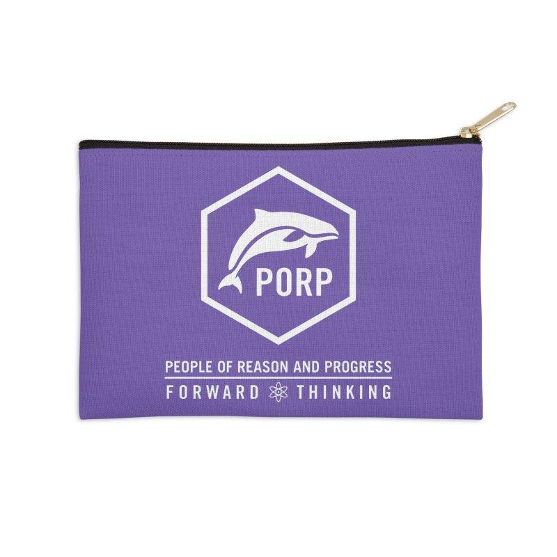PORP Logo Accessories Zip Pouch by PORPMerch's Artist Shop