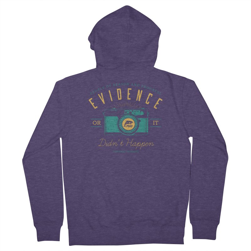PORP Evidence Camera Men's French Terry Zip-Up Hoody by PORPMerch's Artist Shop