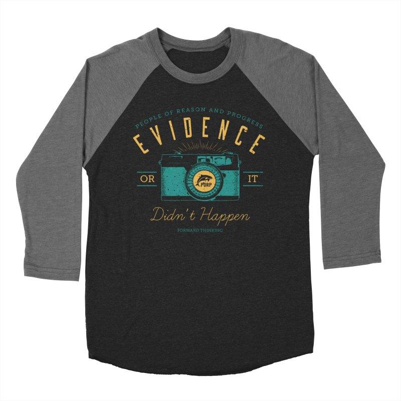 PORP Evidence Camera Women's Baseball Triblend Longsleeve T-Shirt by PORPMerch's Artist Shop