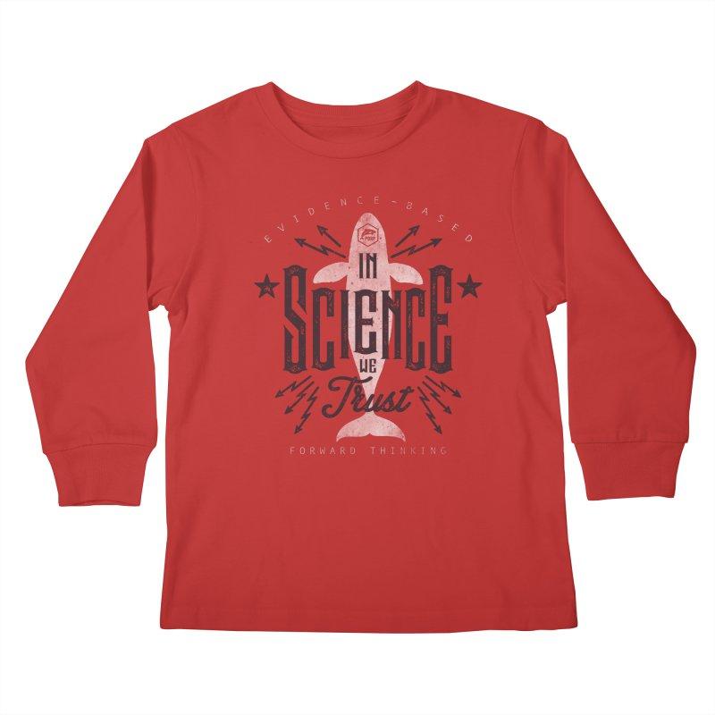 PORP: In Science We Trust Kids Longsleeve T-Shirt by PORPMerch's Artist Shop