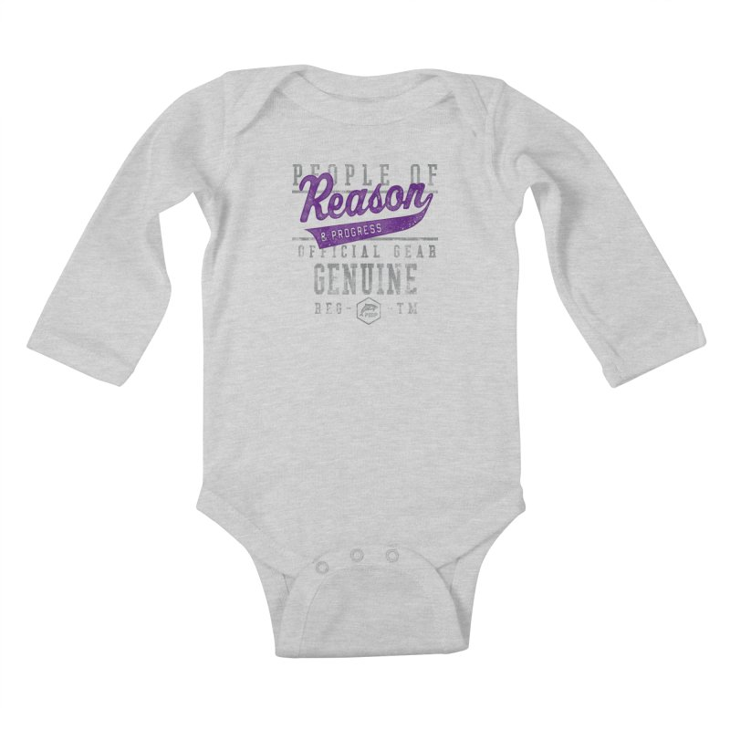 PORP Athletic Design Kids Baby Longsleeve Bodysuit by PORPMerch's Artist Shop