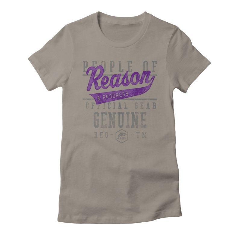 PORP Athletic Design Women's Fitted T-Shirt by PORPMerch's Artist Shop