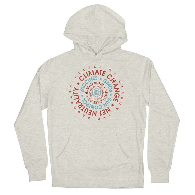 PORP Word Circle Women's French Terry Pullover Hoody by PORPMerch's Artist Shop