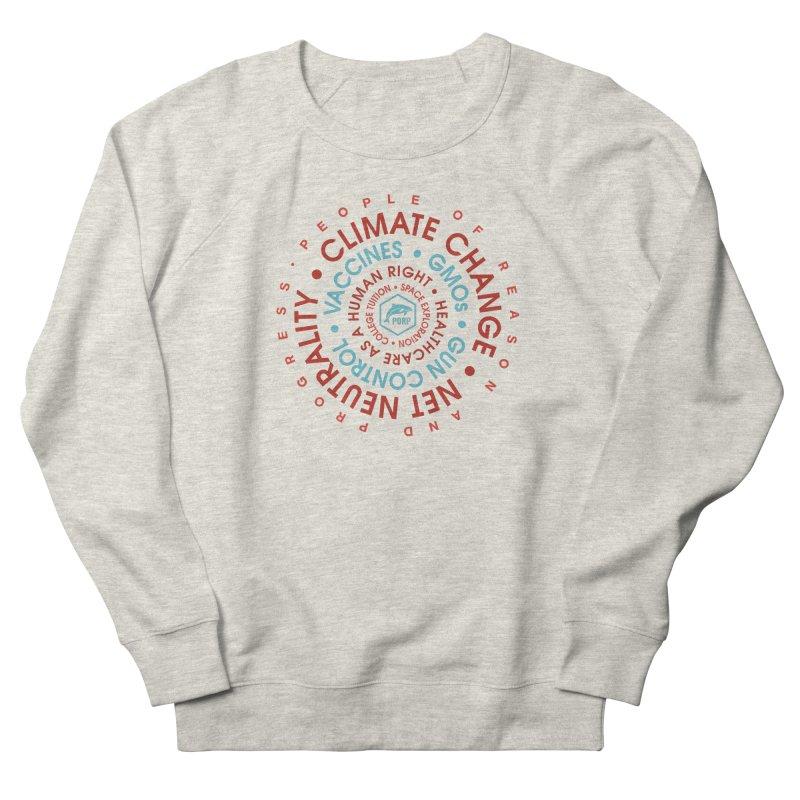 PORP Word Circle Women's French Terry Sweatshirt by PORPMerch's Artist Shop