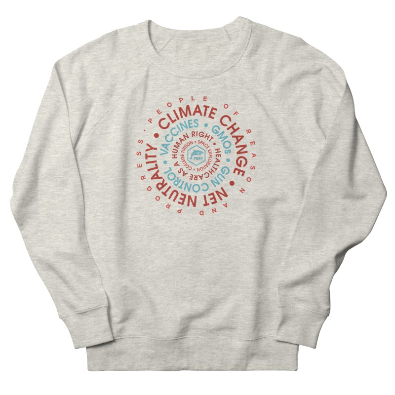 PORP Word Circle Men's French Terry Sweatshirt by PORPMerch's Artist Shop