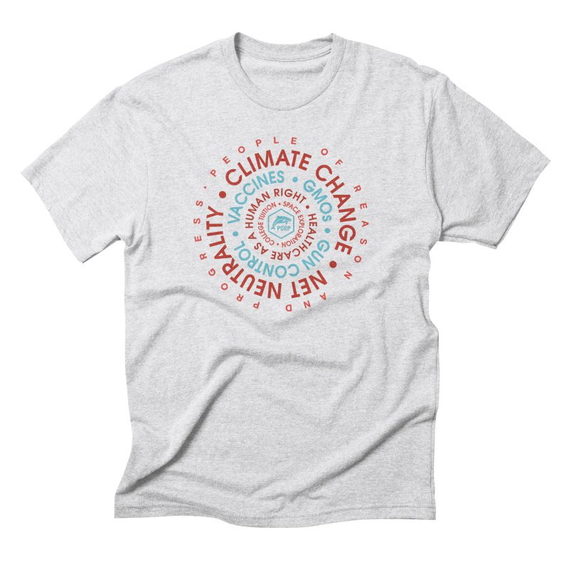 PORP Word Circle Men's Triblend T-Shirt by PORPMerch's Artist Shop