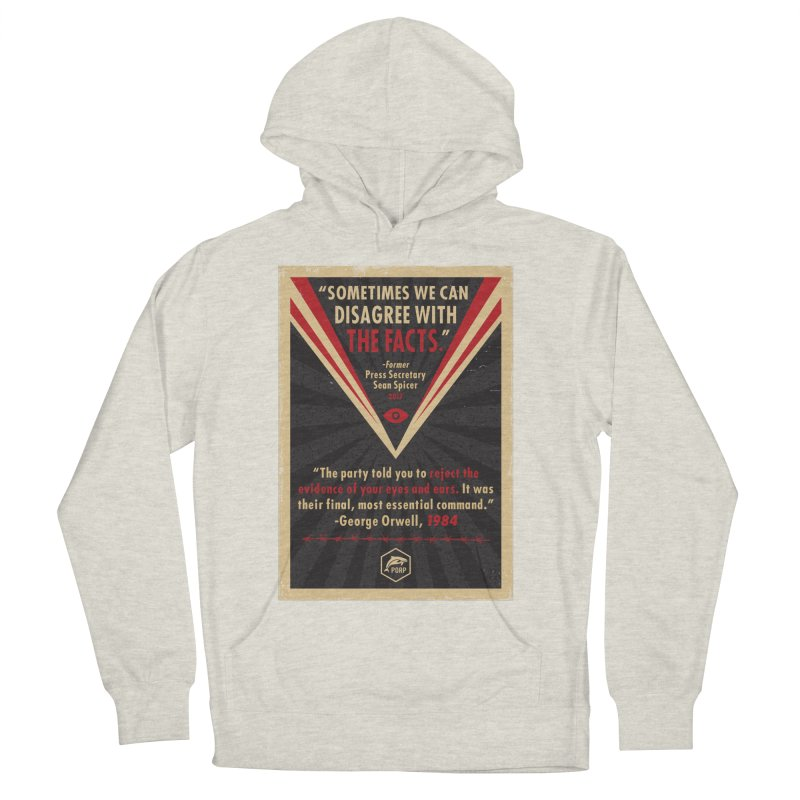 PORP Orwellian Poster Men's French Terry Pullover Hoody by PORPMerch's Artist Shop