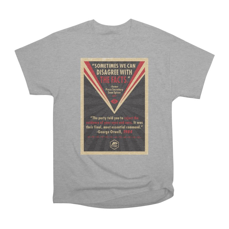 PORP Orwellian Poster Men's Heavyweight T-Shirt by PORPMerch's Artist Shop